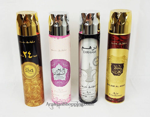 Ard AL Zaafaran Air Fresheners 300ml 4 Types wholesale - Islamic Shop