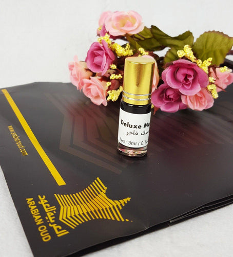 Fakhir Musk (Deluxe Black Musk) 3ml Grade-A Concentrated Perfume Oil