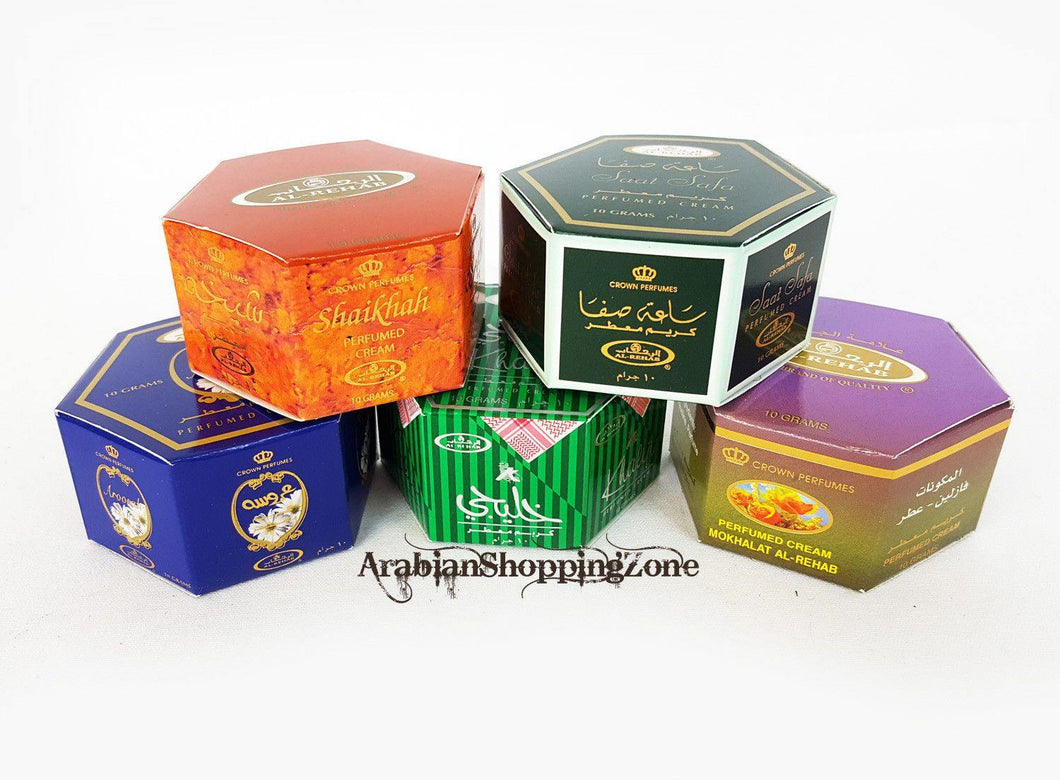 AL Rehab Perfumes Arabian Perfumed Body Cream 10g - Islamic Shop