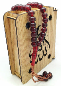 Acrylic TESBİH Islamic Prayer Beads tasbih MASBAHA Misbaha Tasbeeh - Islamic Shop