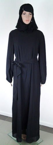 Chiffon Kaftan Islamic Abaya Jilbab Long Sleeve HSZ2001 (US14/16EU44/46UK18/20)