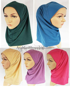 Premium Quality Slip On Instant Egpty Cotton Autumn Hijab Scarf - Arabian Shopping Zone