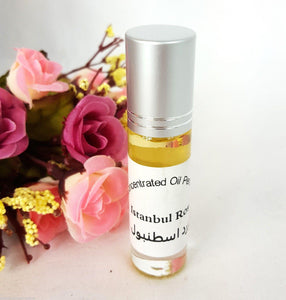 Istanbul Rose 6ml Grade A Concentrated Perfume Oil Attar Parfüm Parfum Parfümöl