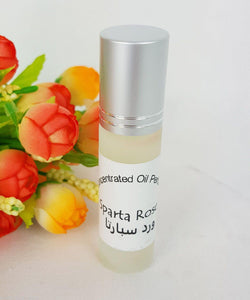 Sparta Rose 6ml Grade A Concentrated Perfume Oil Attar Parfüm Parfum Parfümöl