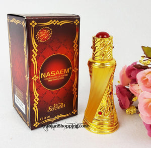 Nasaem By Nabeel Concentrated Perfume Oil 15ml - Arabian Shopping Zone