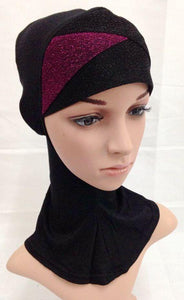 Cotton New Crossover Muslim Inner Caps Islamic Underscarf Ninja Hijab Hair Loss