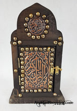 "Holy Quraan Koran Quran 14*10cm (6"") Arabic Mushaf with WOODEN HANDCRAFT BOX"