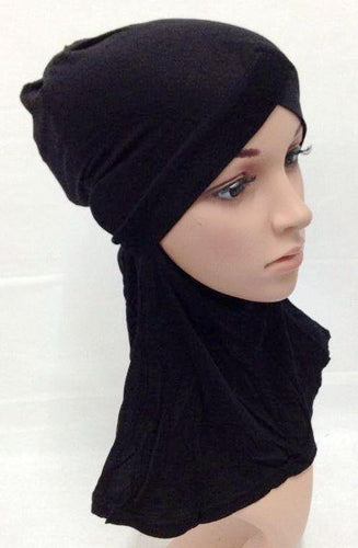 V-Shape Modal Cotton Muslim Women Inner Hijab Caps Islamic Underscarf