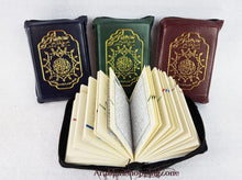 "4"" Pocket Size Tajweed Quran in Zipped Case in Arabic Qur'an Dar AL Marifa - Islamic Shop"