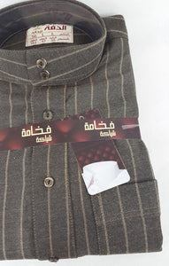 AL DAFFAH 56/58/60/62 Saudi Arabian Dishdasha High Quality Winter Thobe Thoub - Islamic Shop