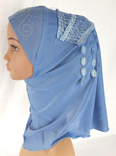 Ice Silk Toddler Kids Children Hijab Islamic Scarf Shawls -0863
