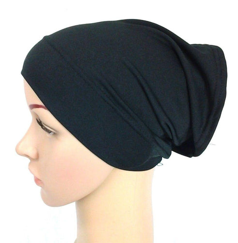 Under Scarf Shawl Slip on Bonnet Hijab Tube Hair Loss (1 to 12PCS) wholesale - Arabian Shopping Zone