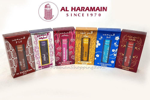 AL Haramain 10ml Roll-On Attars Oriental High Quality Concentrated Perfume Oil - Islamic Shop