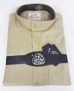 Agawid Deluxe Quality Arabian Dishdasha Winter Thobe Thoub Robe P07 - Islamic Shop