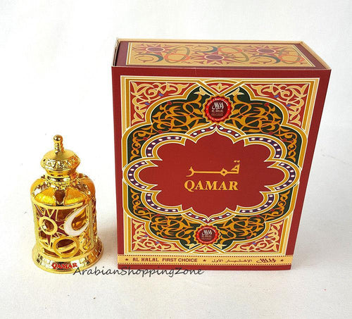 QAMAR 15ml AL HARAMAIN (AL HALAL) - PERFUME OIL/ARABIAN ATTAR/ ITR/NON ALCOHOL