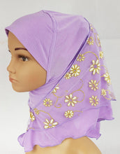 NEW Crystal Hemp Toddler Children Kids Hijab Islamic Scarf Shawls 2-8T - Arabian Shopping Zone