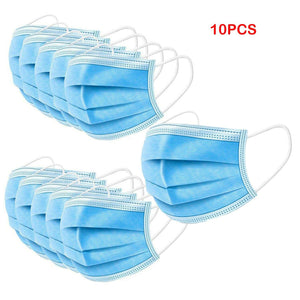 10PCS Protective Face Mouth Mask