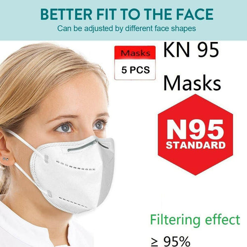 5PCS Protective Face Mouth Mask
