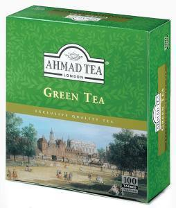 Ahmad Tea Green Tea in bag, 100 pcs