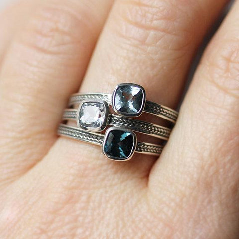Birthstone Rings for Mom