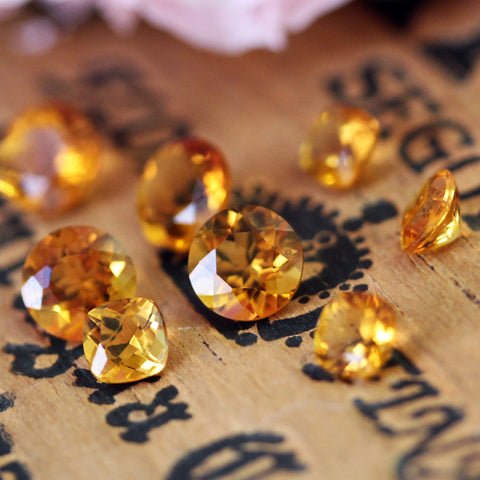 Citrine, the birthstone for November