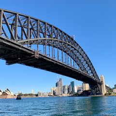 The architecture of the Sydney Harbor Bridge