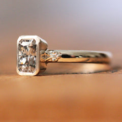 Custom Moissanite Ring
