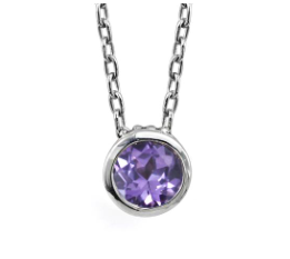Alexandrite Wrought Bezel Necklace