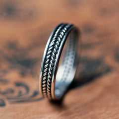 silver-braided-wedding-band