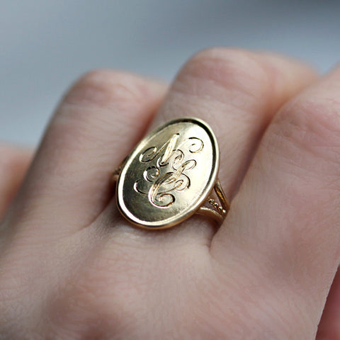 engraved-initial-ring-gold