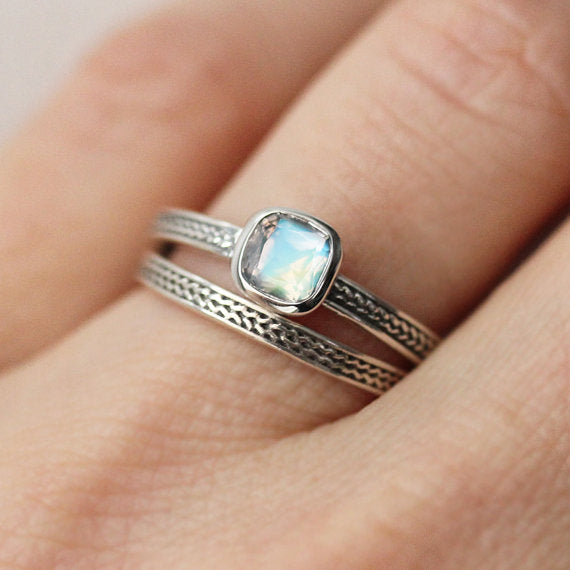 Rainbow moonstone ring-handmade-ethnic3