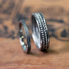 handmade-ethical-White-Gold-Harvest-Wedding-Ring-Set-02
