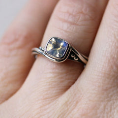 Moonstone engagement ring-handmade-ethnic2