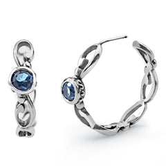 silver-hoop-earrings-london-blue-topaz