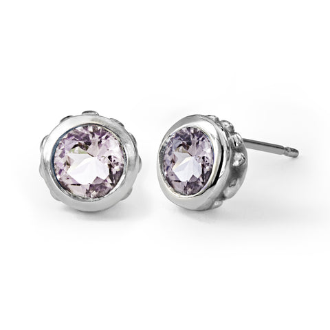 morganite-stud-earrings-silver
