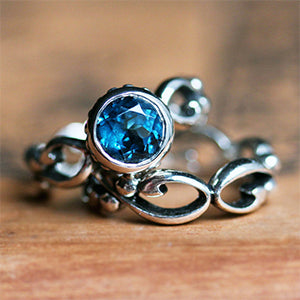 Wrought-Sterling-Silver-Blue-Topaz-Engagement-Set-02