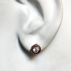 handmade-ethical-Rose-Gold-Wrought-Morganite-Stud-Earrings-03