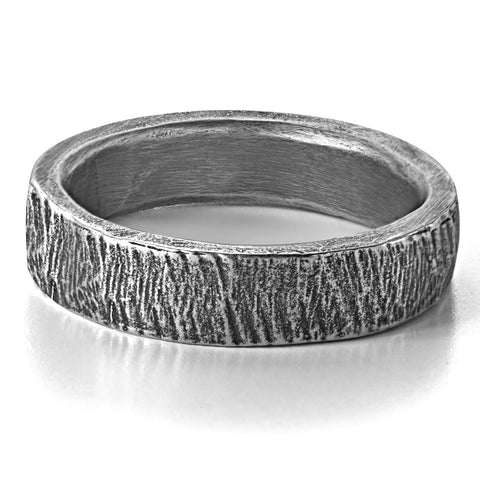 wood-grain-wedding-ring-silver