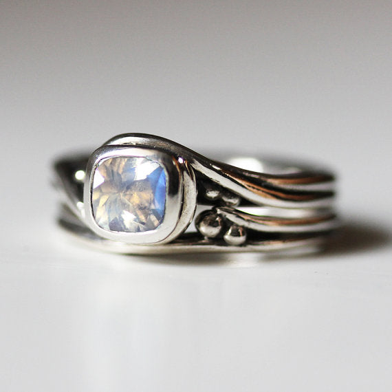 Moonstone engagement ring-handmade-ethnic3