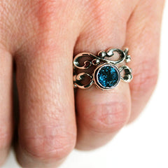 Wrought-Sterling-Silver-Blue-Topaz-Engagement-Set-03