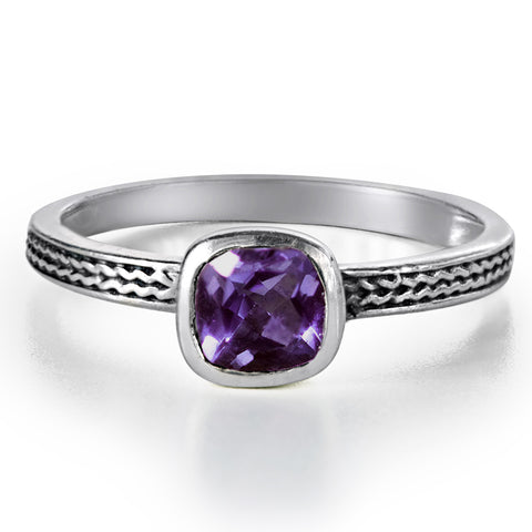 cushion-amethyst-ring-silver