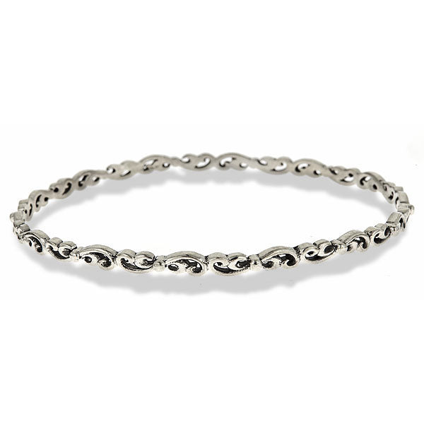 silver-swirl-bangle-bracelet