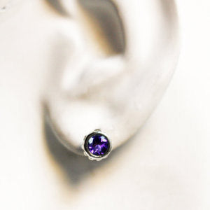 handmade-ethical- Amethyst-Birthstone-Stud-Earrings-03