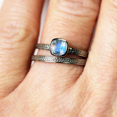 handmade-ethnic-14k-white-gold-rainbow-moonstone-wheat-engagement-ring-3