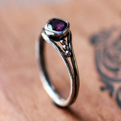 handmade-ethical-Sterling-Silver-Amethyst-Promise-Ring-02