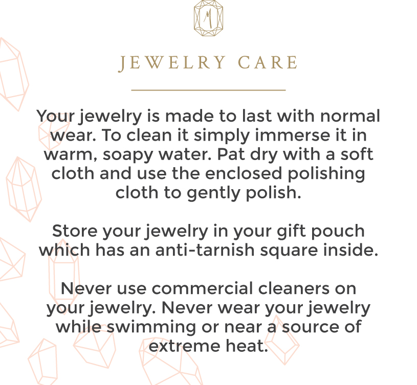 How to care for your jewelry