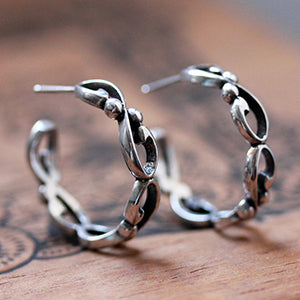 handmade-ethical-Silver-Infintiy-Hoop-Earrings-02