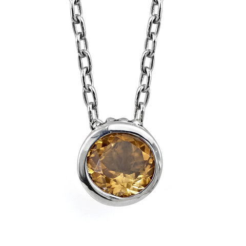 citrine-bezel-necklace-sterling-silver