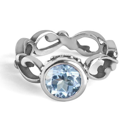 bezel-set-aquamarine-ring