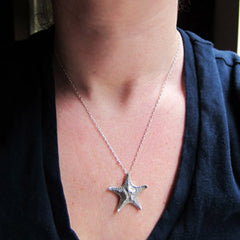 handmade-ethical-Starfish-Necklace-in-Recycled-Sterling-Silver-03